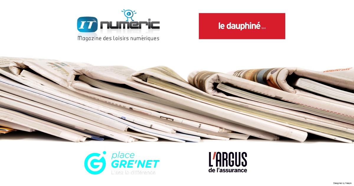 Technosens : On parle de nous dans la presse